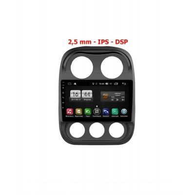 Штатная магнитола FarCar s195 для Jeep Compass на Android (LX1078R)