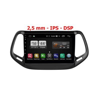 Штатная магнитола FarCar s195 для Jeep Compass 2017+ на Android (LX1008R)