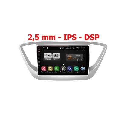 Штатная магнитола FarCar s195 для Hyundai Solaris 2017+ на Android (LX766R)