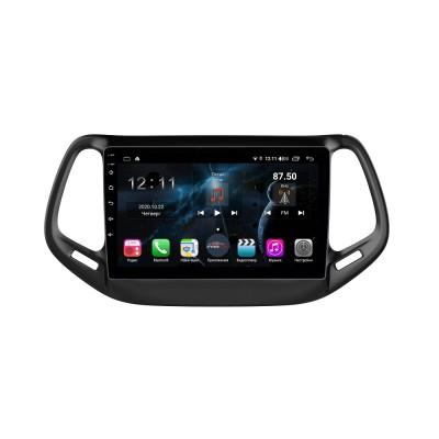 Штатная магнитола FarCar s400 для Jeep Compass 2017+ на Android (H1008R)