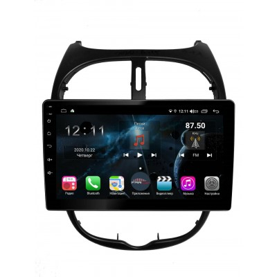 Штатная магнитола FarCar s400 для Peugeot 206 на Android (H778R)