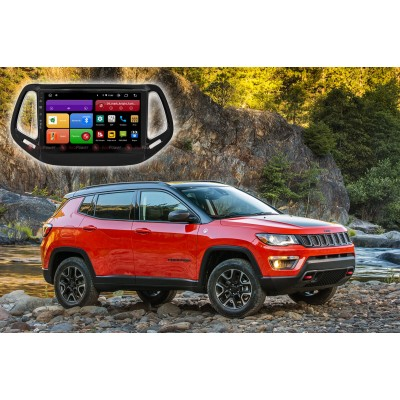 Штатная магнитола для Jeep Compass (2017+) RedPower 61315