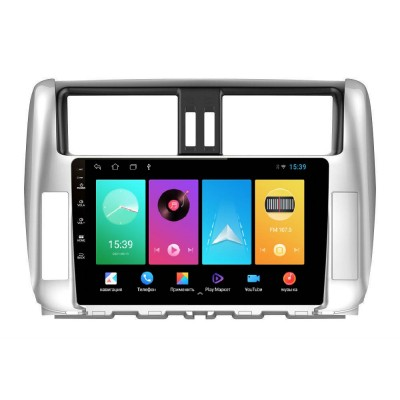 Штатная магнитола FarCar для Toyota Land Cruiser Prado 150 на Android (D065M)