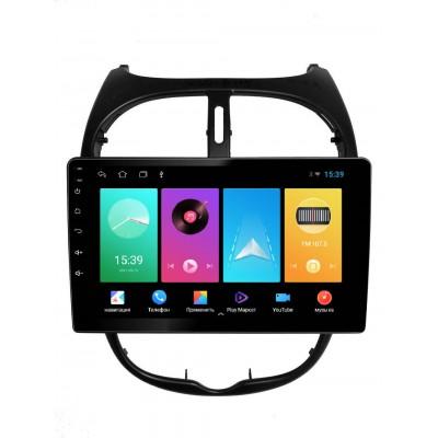 Штатная магнитола FarCar для Peugeot 206 на Android (D778M)