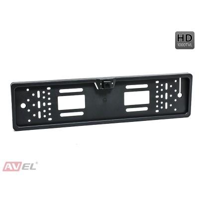 Камера переднего/ заднего вида в рамке номерного знака AVS309CPR (HD)