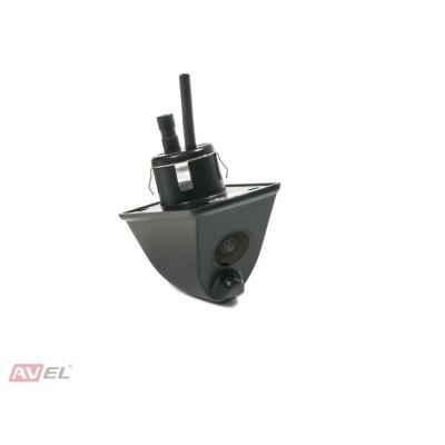 Универсальная камера заднего/ переднего вида AVS310CPR (#007) с омывателем