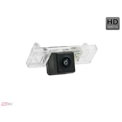 Камера заднего вида AVS327CPR (#063) для автомобилей CITROEN/ INFINITI/ NISSAN/ PEUGEOT/ RENAULT/ SMART/ GEELY