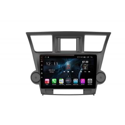 Штатная магнитола FarCar s400 для Toyota Highlander на Android (H035R)