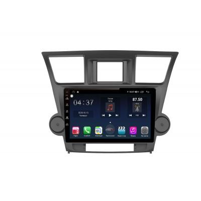 Штатная магнитола FarCar s400 для Toyota Highlander на Android (TG035M)