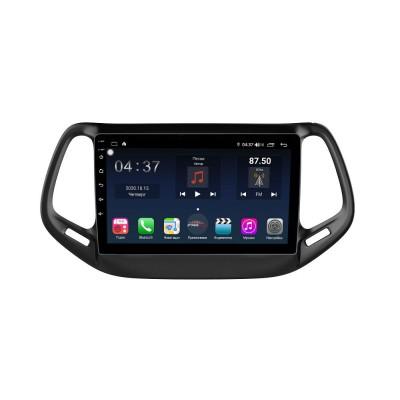 Штатная магнитола FarCar s400 для Jeep Compass 2017+ на Android (TG1008R)