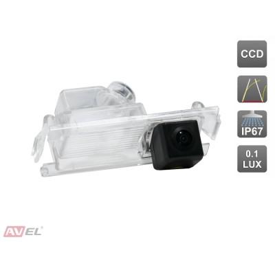 Камера заднего вида с динамической разметкой AVS326CPR (#030) для автомобилей HYUNDAI/ KIA