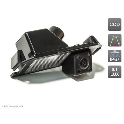 Камера заднего вида с динамической разметкой AVS326CPR (#026) для автомобилей HYUNDAI/ KIA