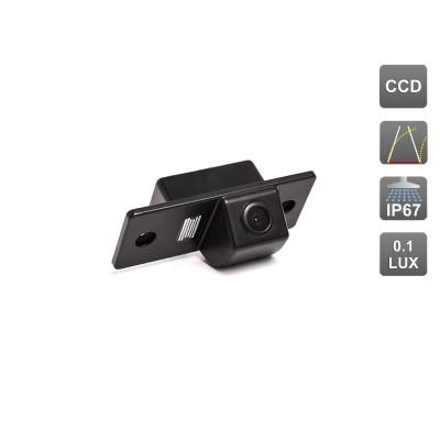 Камера заднего вида с динамической разметкой AVS326CPR (#073) для автомобилей SKODA
