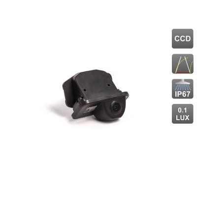 Камера заднего вида с динамической разметкой AVS326CPR (#087) для автомобилей TOYOTA