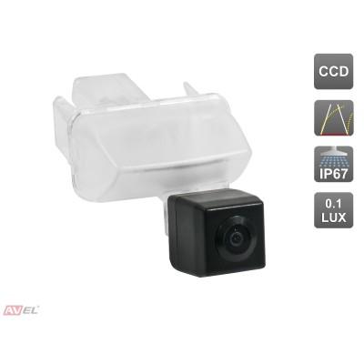 Камера заднего вида с динамической разметкой AVS326CPR (#090) для автомобилей CITROEN/ PEUGEOT/ TOYOTA