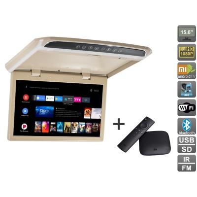 Потолочный монитор на Android AVS1507MPP + Xiaomi Mi Box + AV120520DC