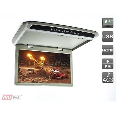 """Потолочный монитор 15,6"""" со встроенным Full HD медиаплеером AVS1507MPP"""