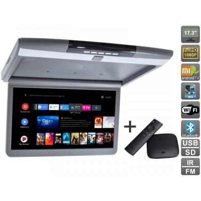Потолочный монитор Android AVS1717MPP + Xiaomi Mi Box + AV120520DC