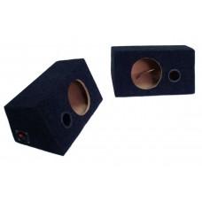 Короб под динамики (круг 16.5 см) / внутренний крепеж / с фаз.