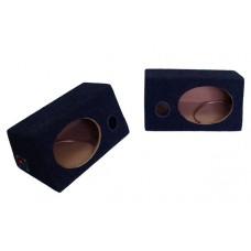 Короб под динамики (овал 6x9) / внутренний крепеж / с фаз.