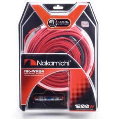 Набор проводов для 4х канального усилителя Nakamichi NK-WK24
