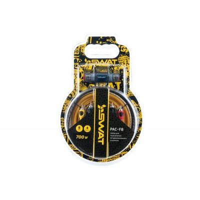 Набор проводов для 4х канального усилителя SWAT PAC-F8