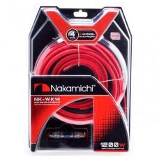Набор проводов для 2х канального усилителя Nakamichi NK-WK14