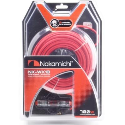 Набор проводов для 2х канального усилителя Nakamichi NK-WK18