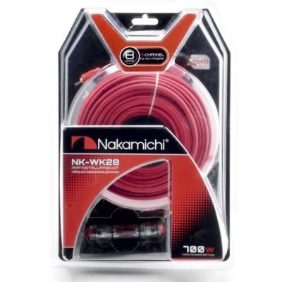 Набор проводов для 4х канального усилителя Nakamichi NK-WK28
