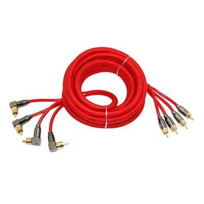 Межблочный кабель  4RCA – 4RCA URAL (УРАЛ) 4RCA-PB5M