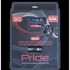 Комплект для подключения 4х канального усилителя Pride 4Ga