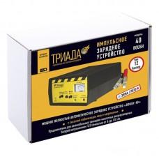 """Зарядное устройство Триада """"40"""", 05075, импульсное, 6/12 А, 2 режима"""